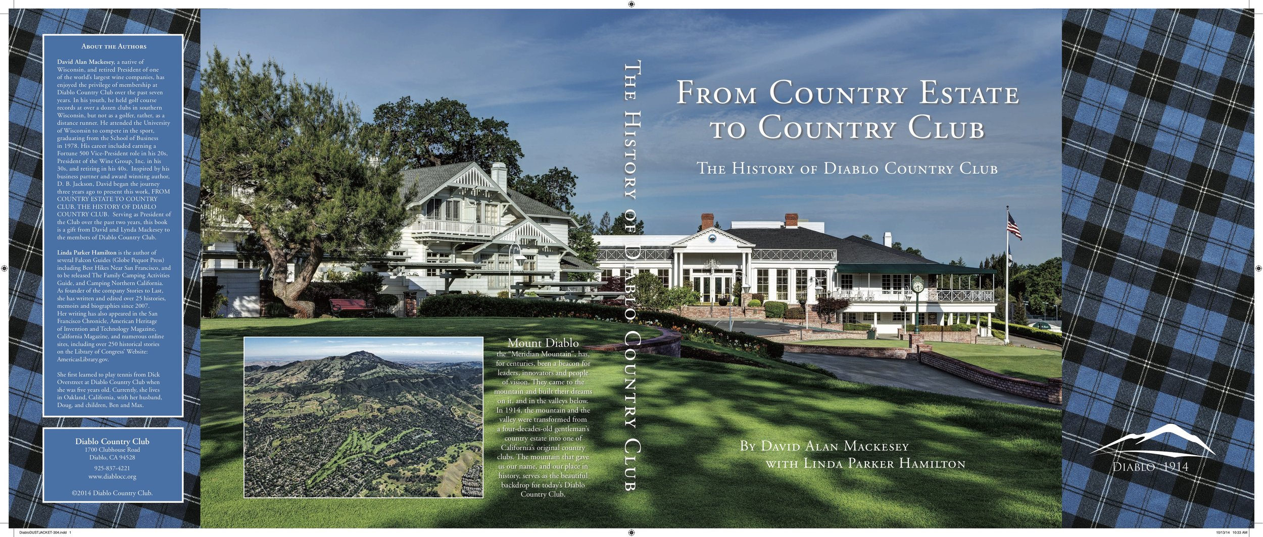 What an amazing history! The Club's origins tie directly to the Big Four railroad tycoons, early California history and even the origins of golf in Scotland! Working with my co-author and the organization was a great experience.