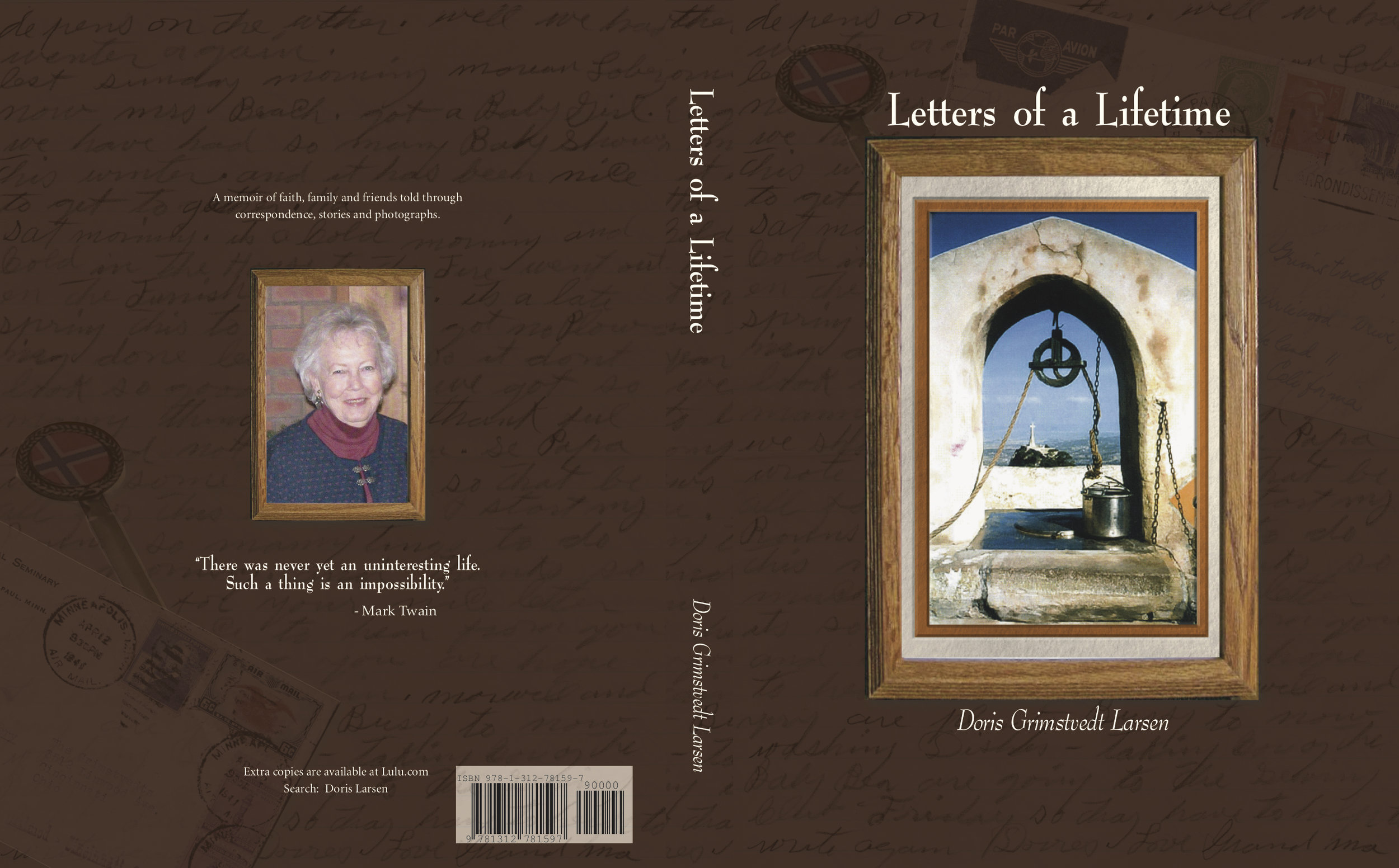 This book started with a collection of annual Christmas letters sent to friends and family. It became so much more, a true legacy for family and friends!