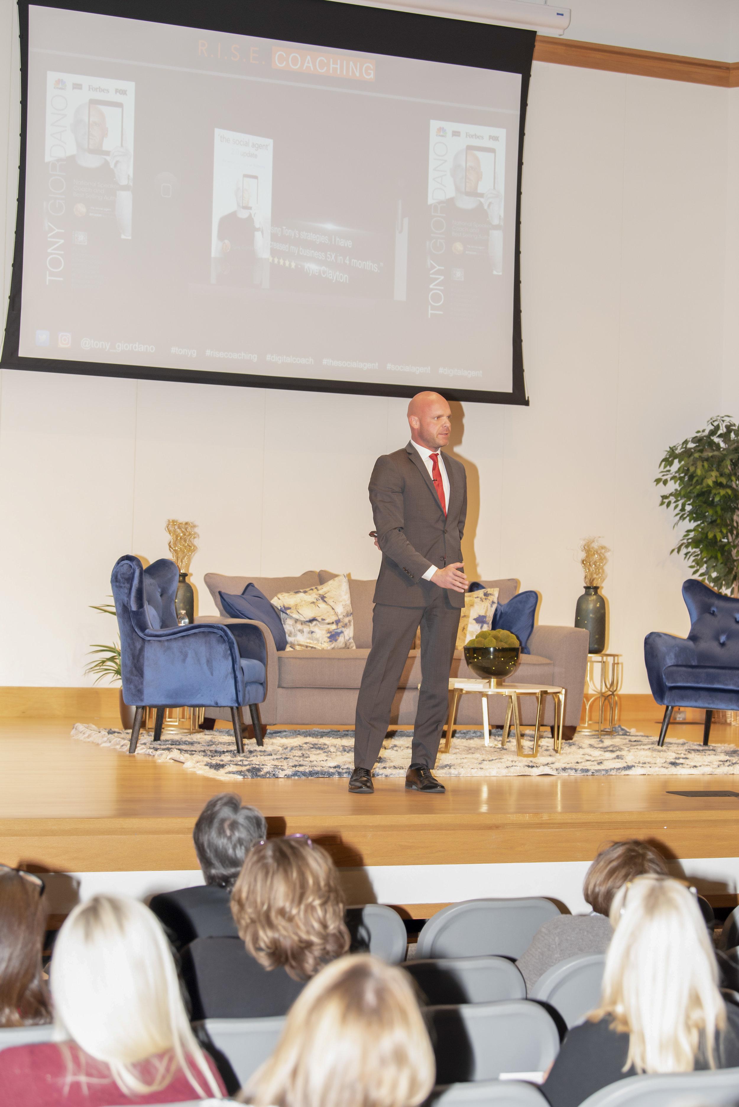 Evolving with Digital Trends: Keyote Speaker, Tony Giordano