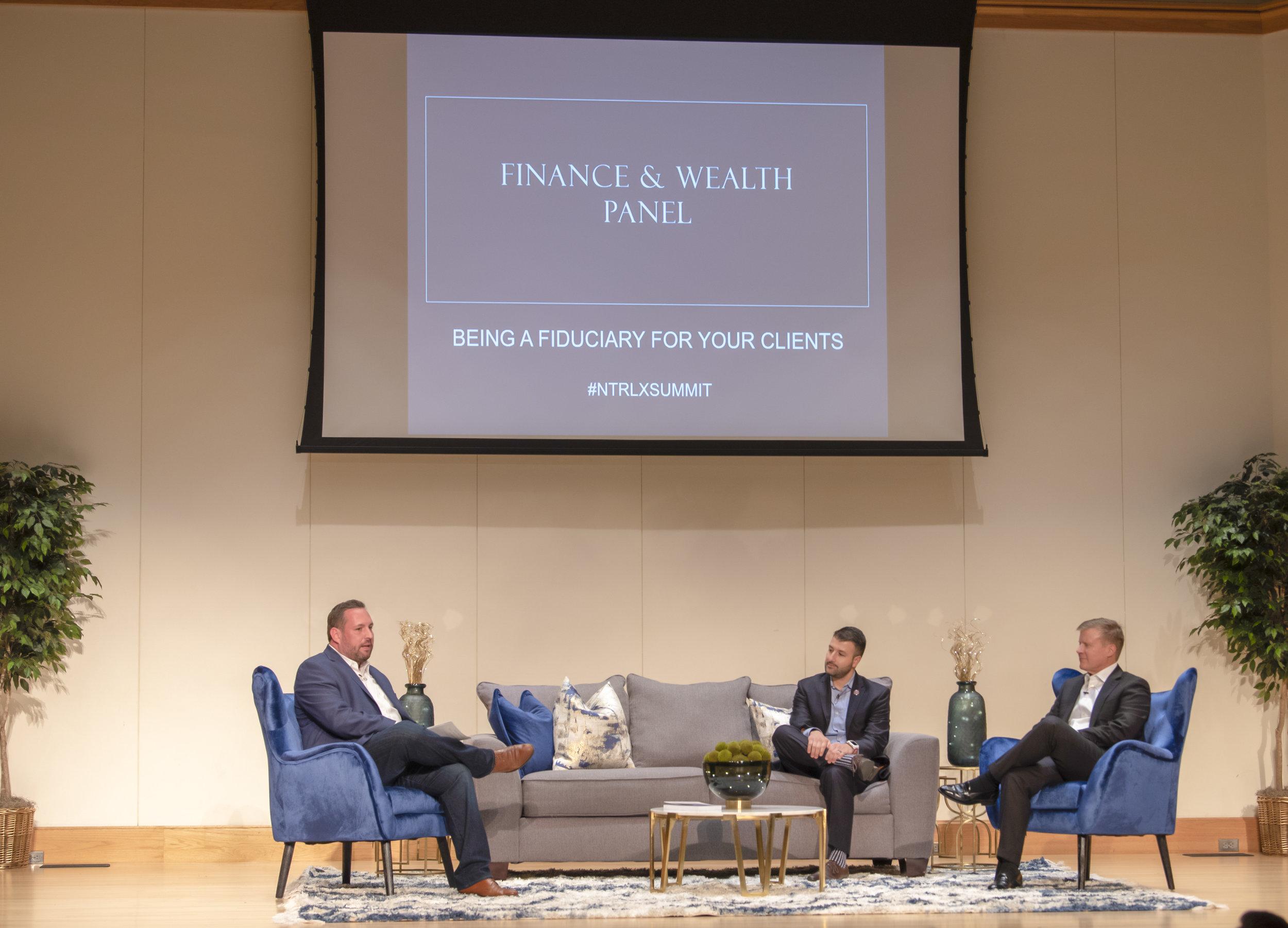 Finance & Wealth Panel