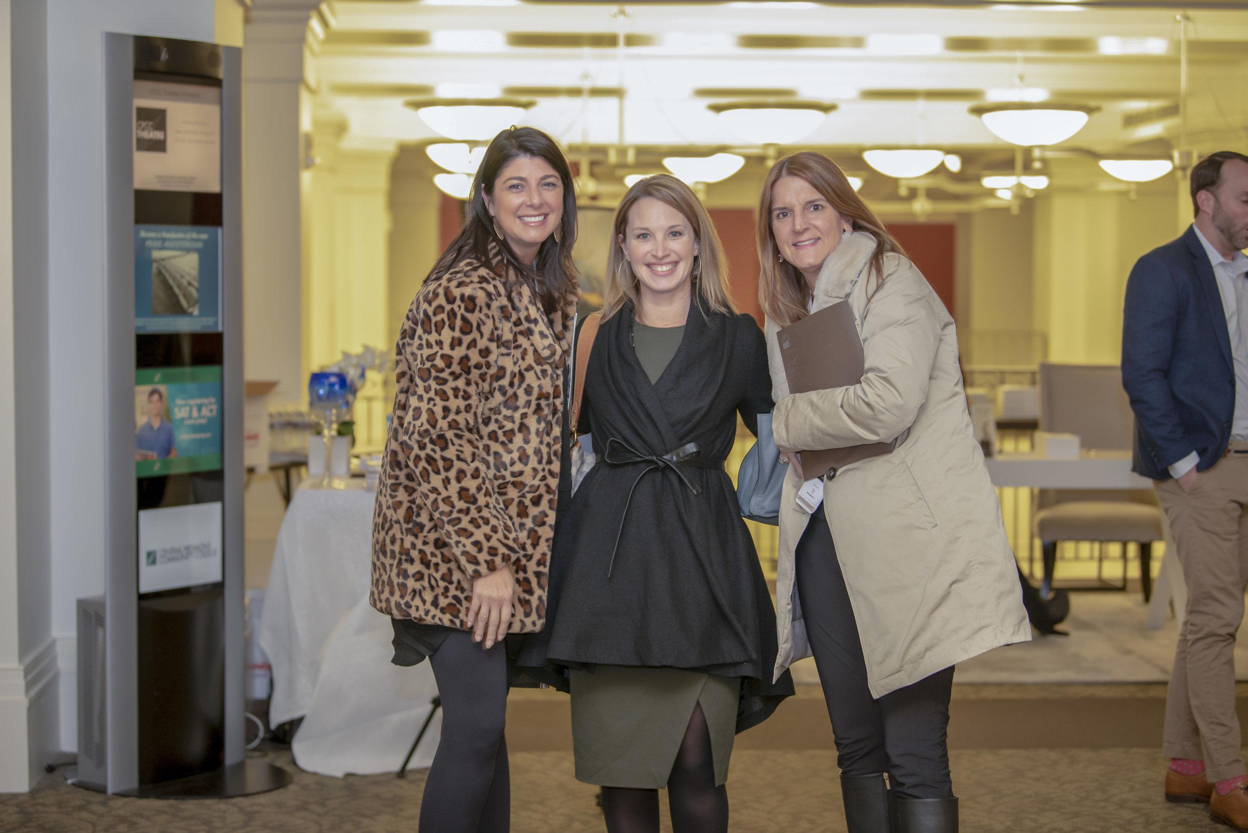 Sheryl Hallow, Valerie Mitchener, Maren Brisson-Kuester of HM Properties