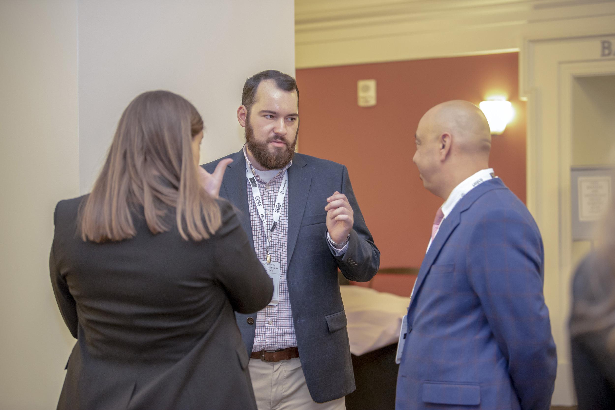 Alex Goodman, Sal Rando, and Ashley O'Leary of Interluxe