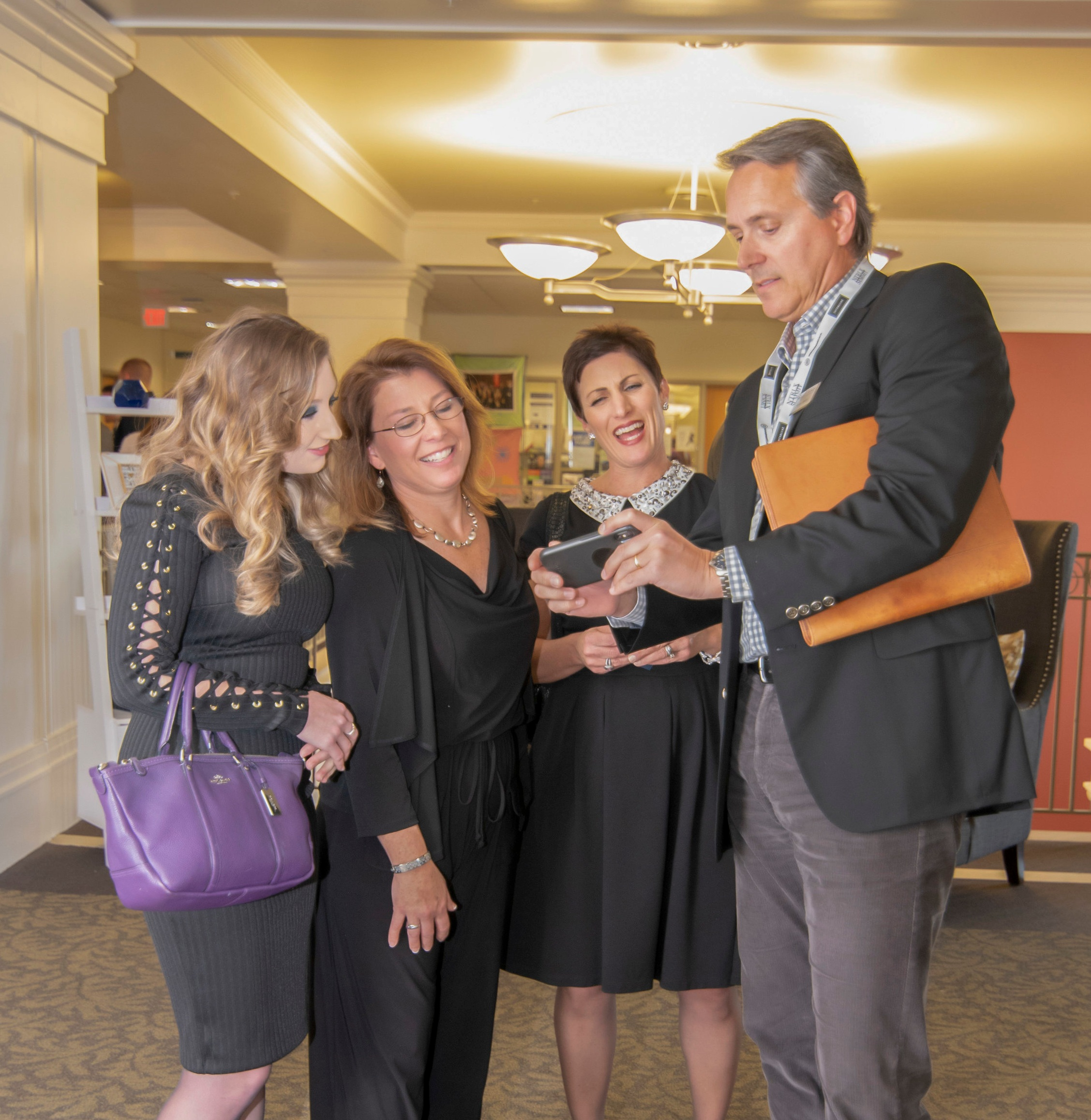 Carol Smith of Creative Home Stagers; Hanes Walker of Premier Sotheby's