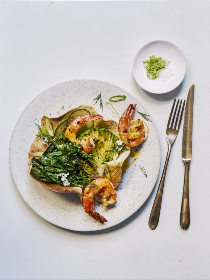 CHARRED PRAWN COCKTAIL TACO – A STARTER FIT FOR A ROYAL WEDDING