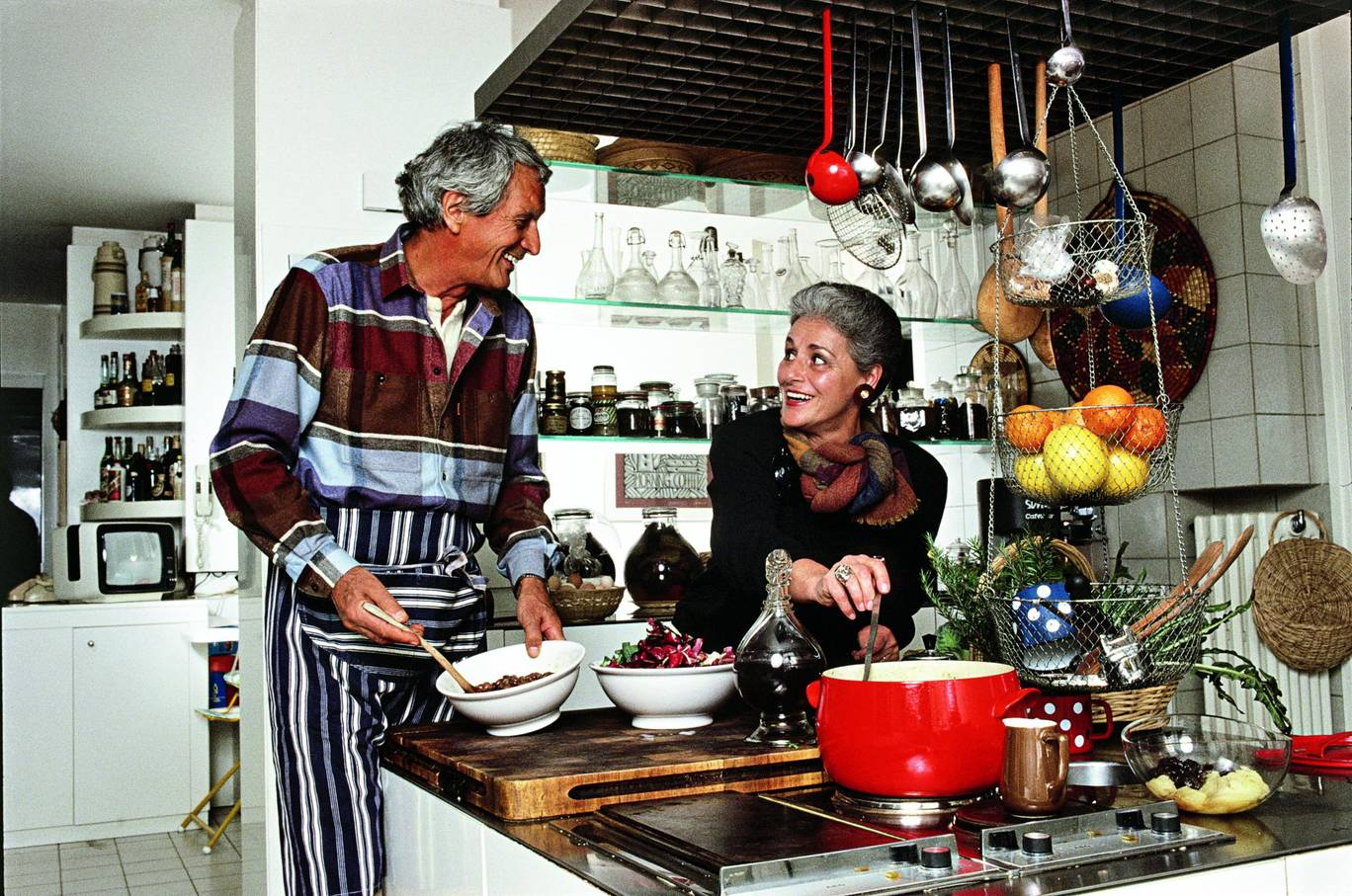 The Missoni Family Cookbook is as the fabulously stylish as you'd imagine