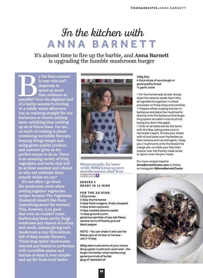 Veggie magazine: in the kitchen with anna