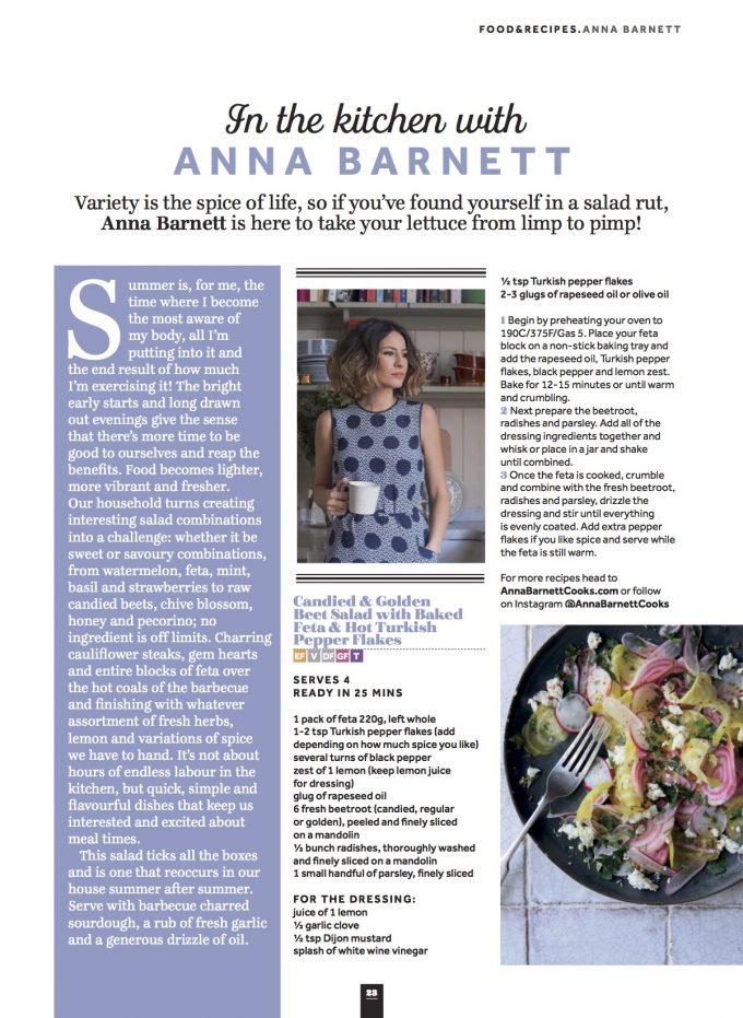 veggie magazine: summer salads