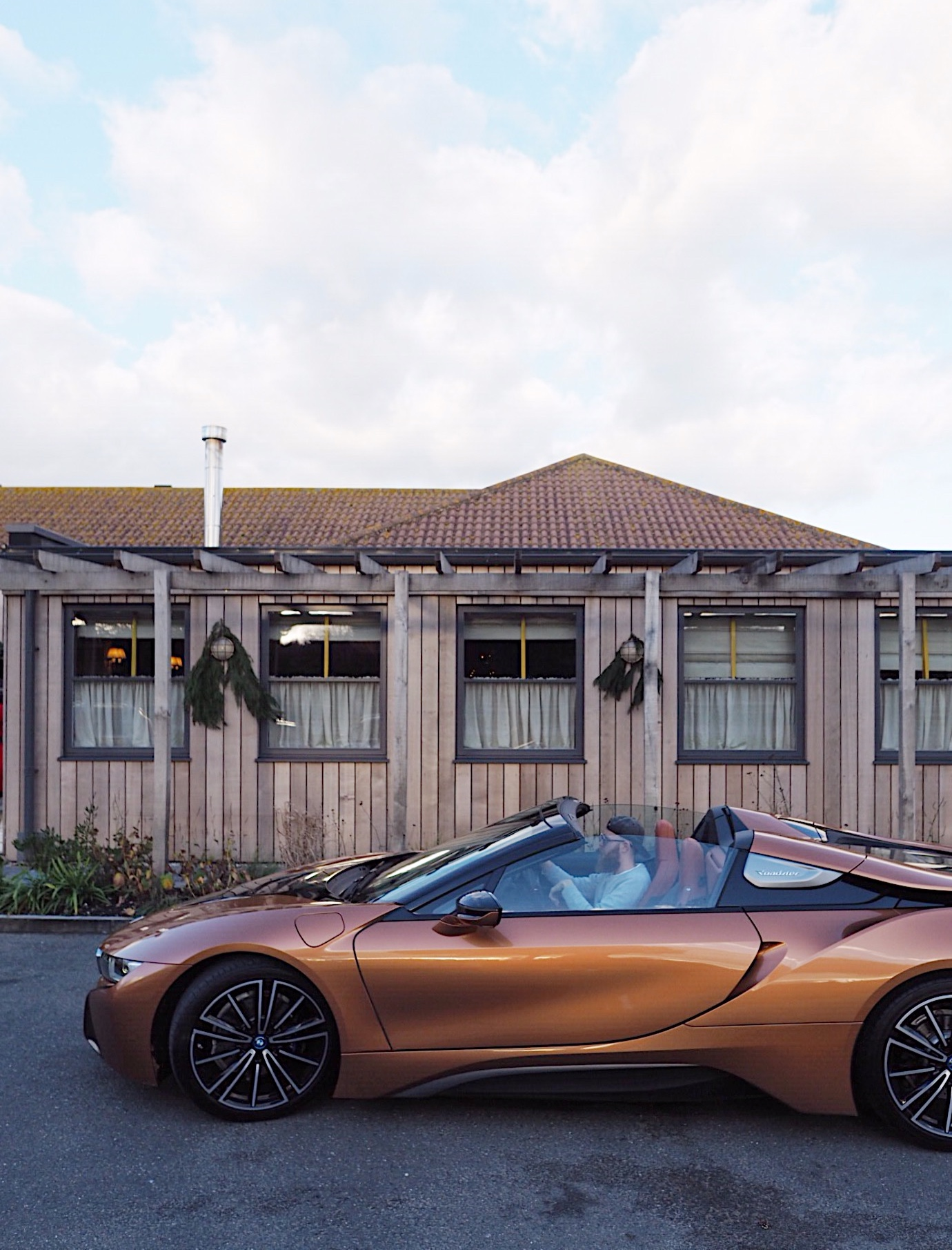 Eat.live.drive with bmw i8 & The Gallivant