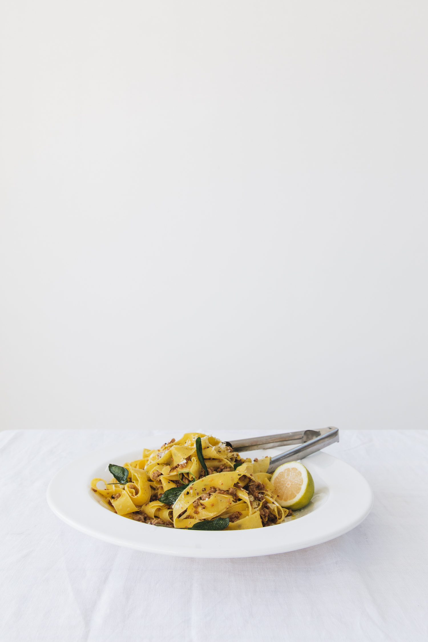 FENNEL SAUSAGE AND SAGE PAPPARDELLE