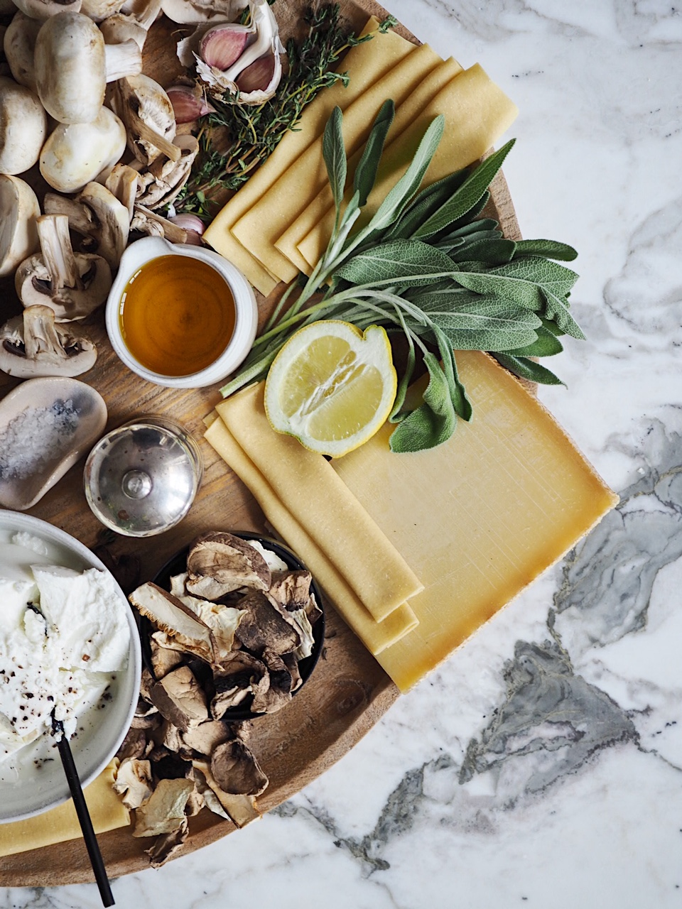 Mushroom & Gruyère Cannelloni -with sainsbury's