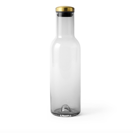 i love this modern take on a carafe and use it for wine and water