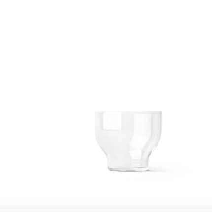 these stackable glasses look great and save so much space on your shelf