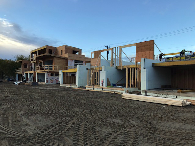 Radon Guard™ and Radon Block™ installation at an Oliver Landing Housing Complex.