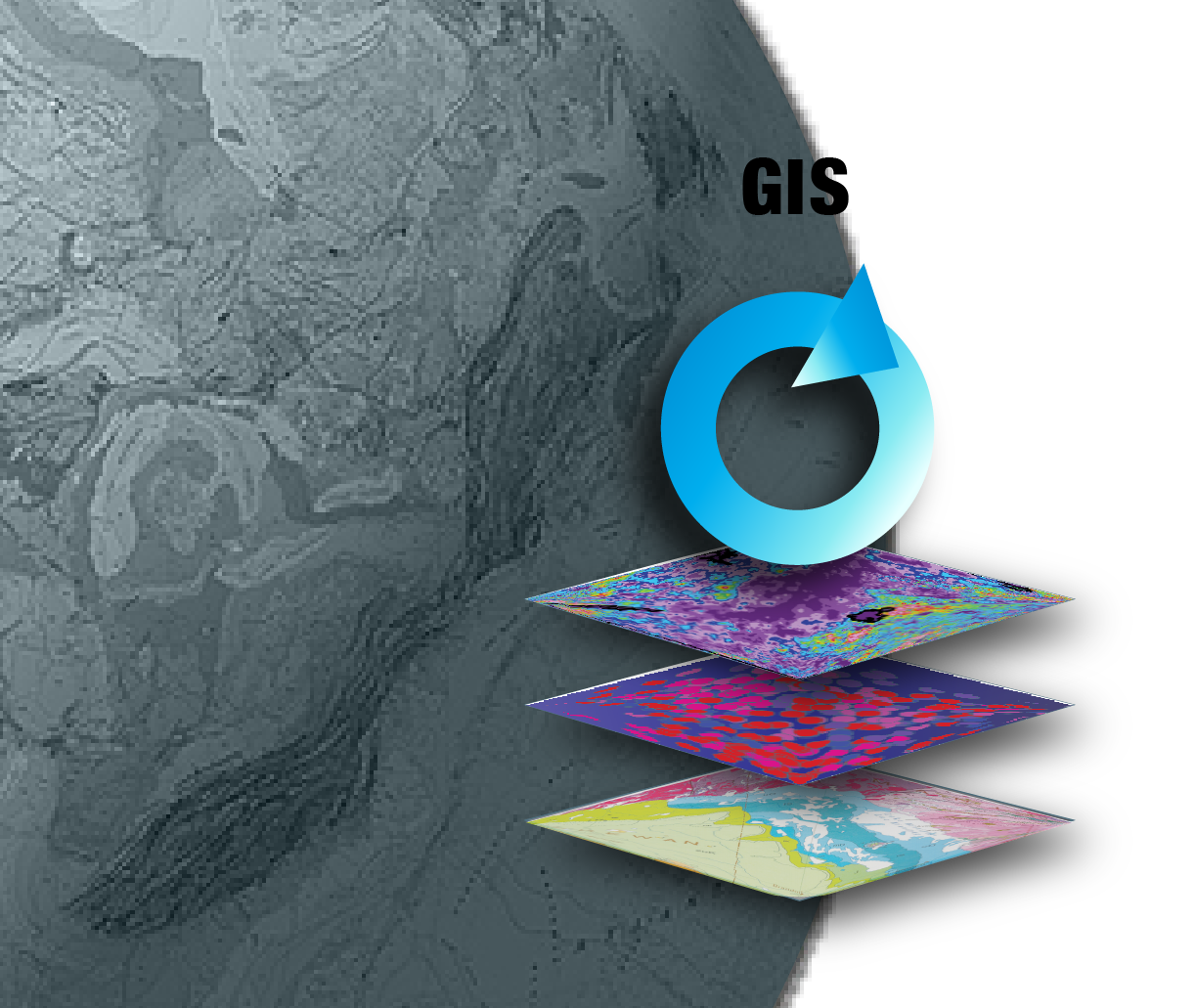 GIS processing of data sources for the Radon Potential Map of Canada.