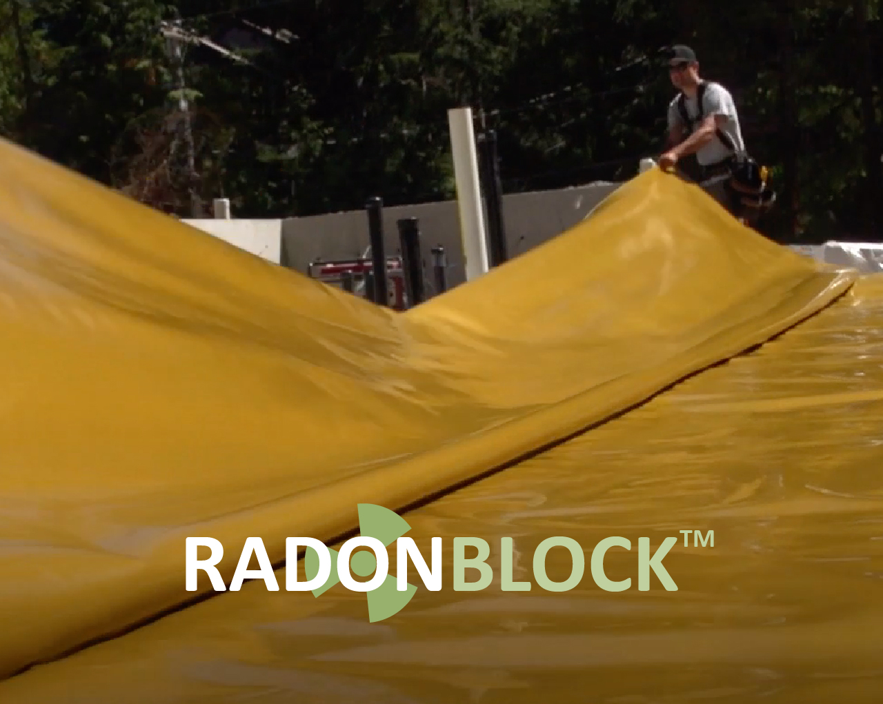 Unfolding sheet of Radon Block.