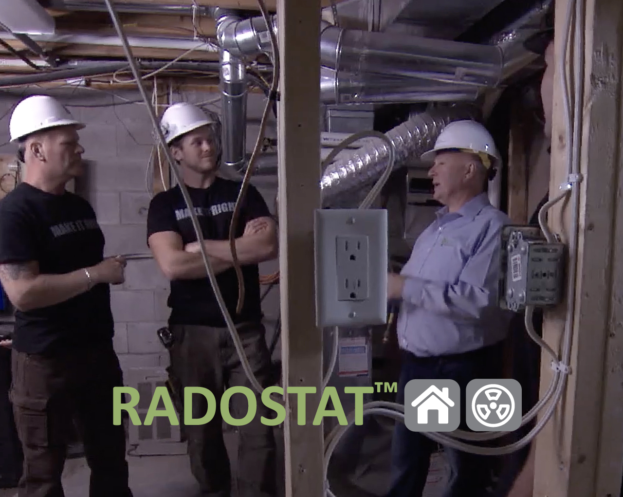 Radostat installation with the Holmes Group.