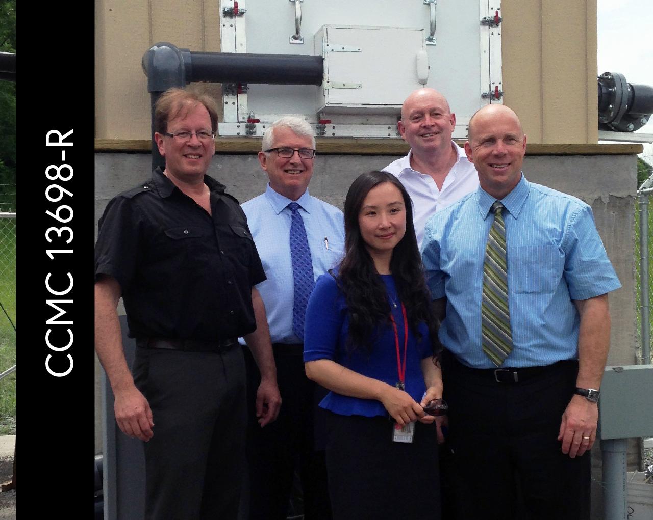 Radon Guard receives NRC-CCMC evaluation.