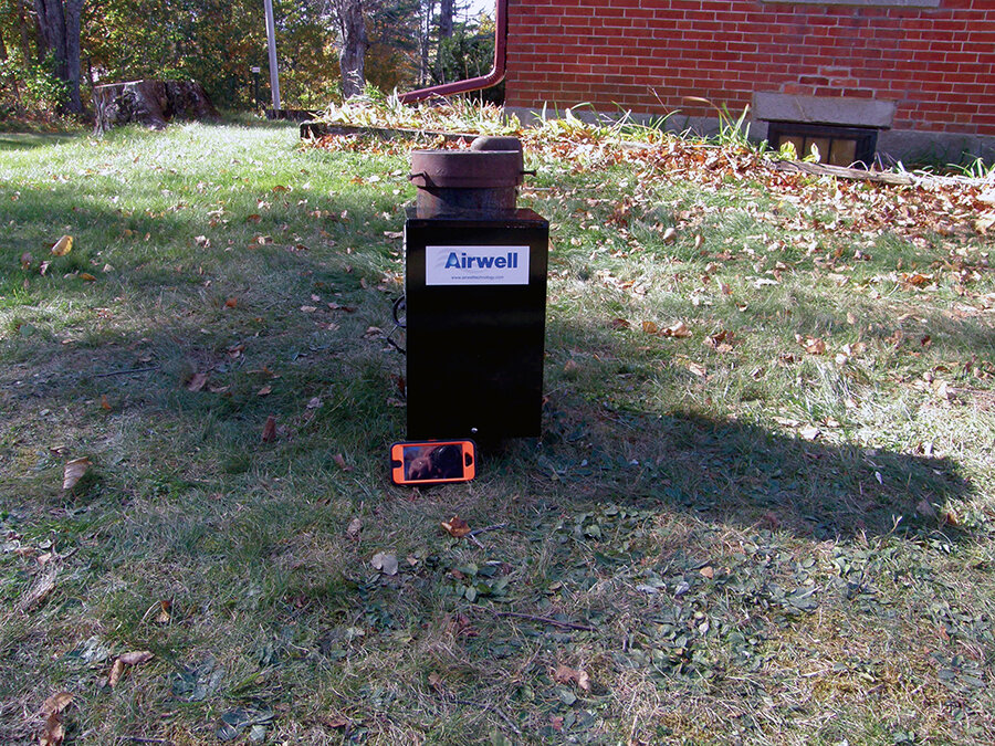 Airwell driver box installed at Maine residence.