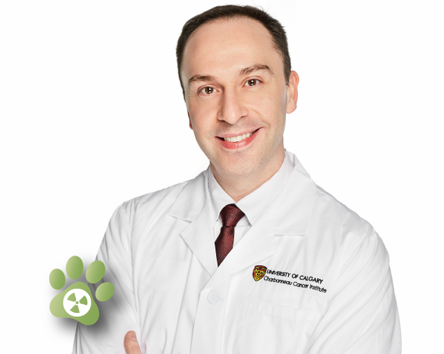 Dr. Aaron Goodarzi of the University of Calgary,  Evict Radon  lead.