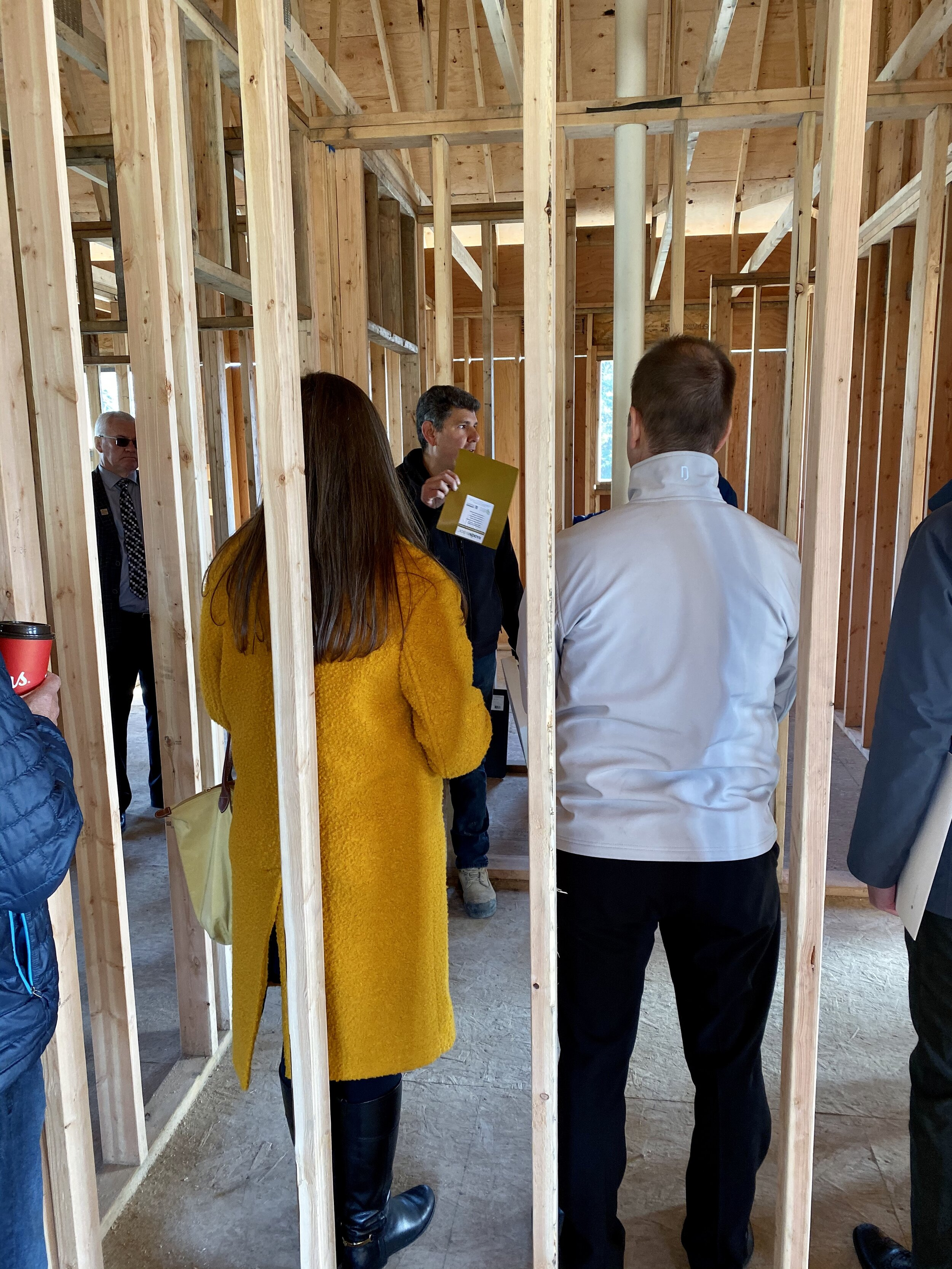 """Johnathan describing the use of Radon Block, a high-performance gas and vapour barrier membrane engineered to block radon and methane. He also describes using the Radon Guard and Block together as a high-performance system to """"Build it Right."""""""