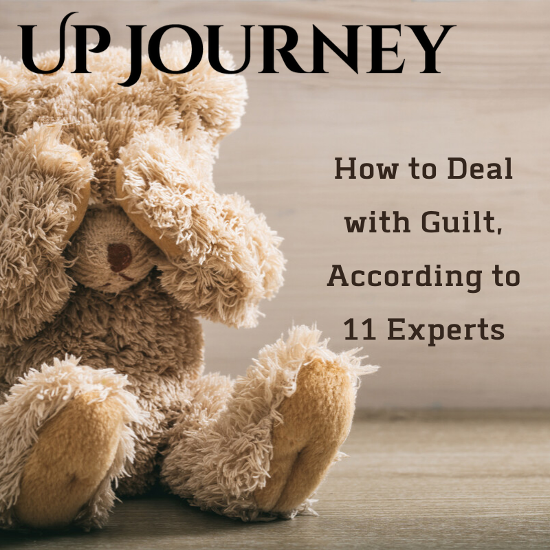 - Marla sits down with Up Journey to discuss guilt and how to deal with it. Marla gives great tips and techniques on things you can do to help you overcome this drowning emotion.