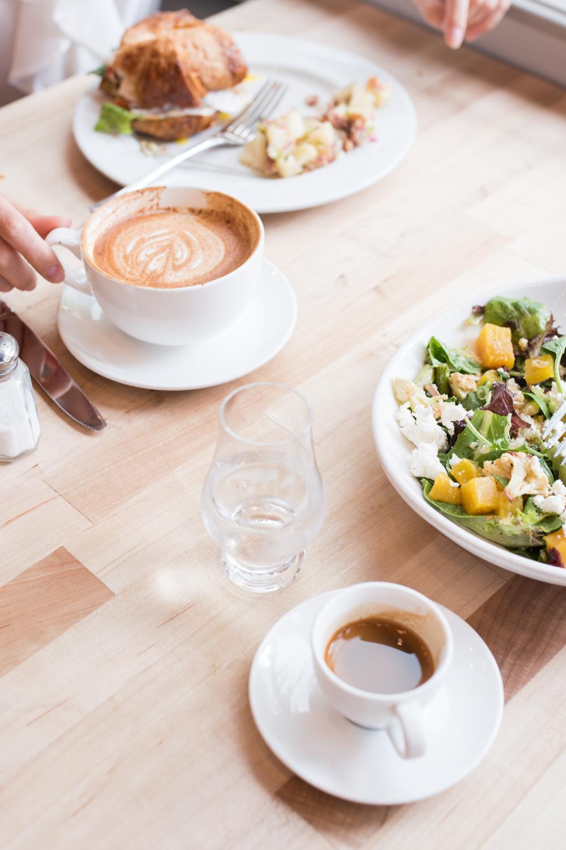 downtown houston brunch and breakfast spread