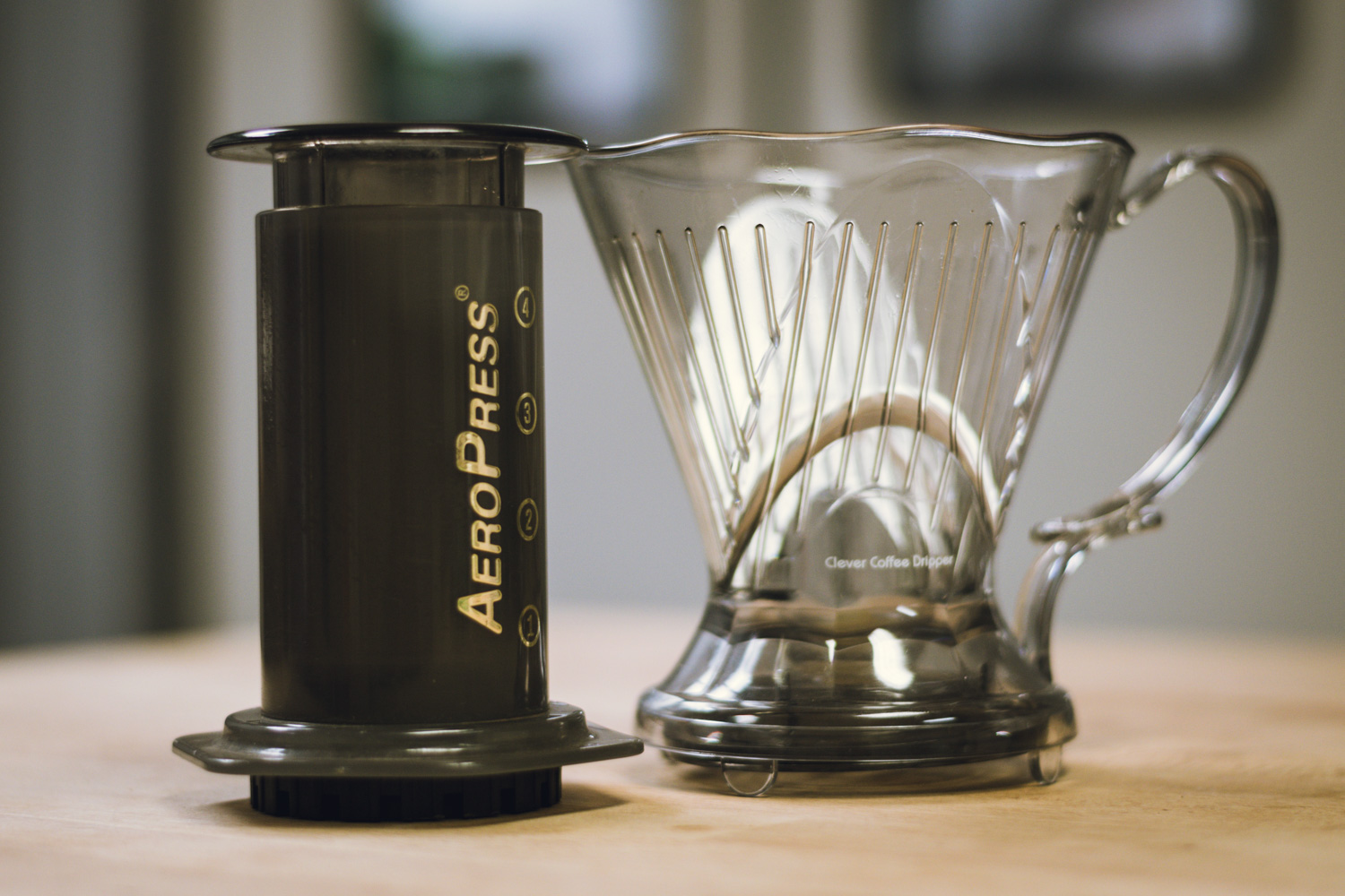 aeropress vs. clever for camping