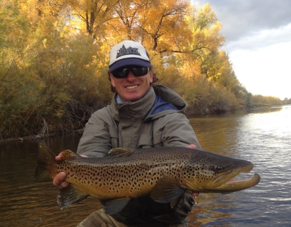 Fishing the Henry's Fork of the Snake | Brown Trout | Stonefly Lodge