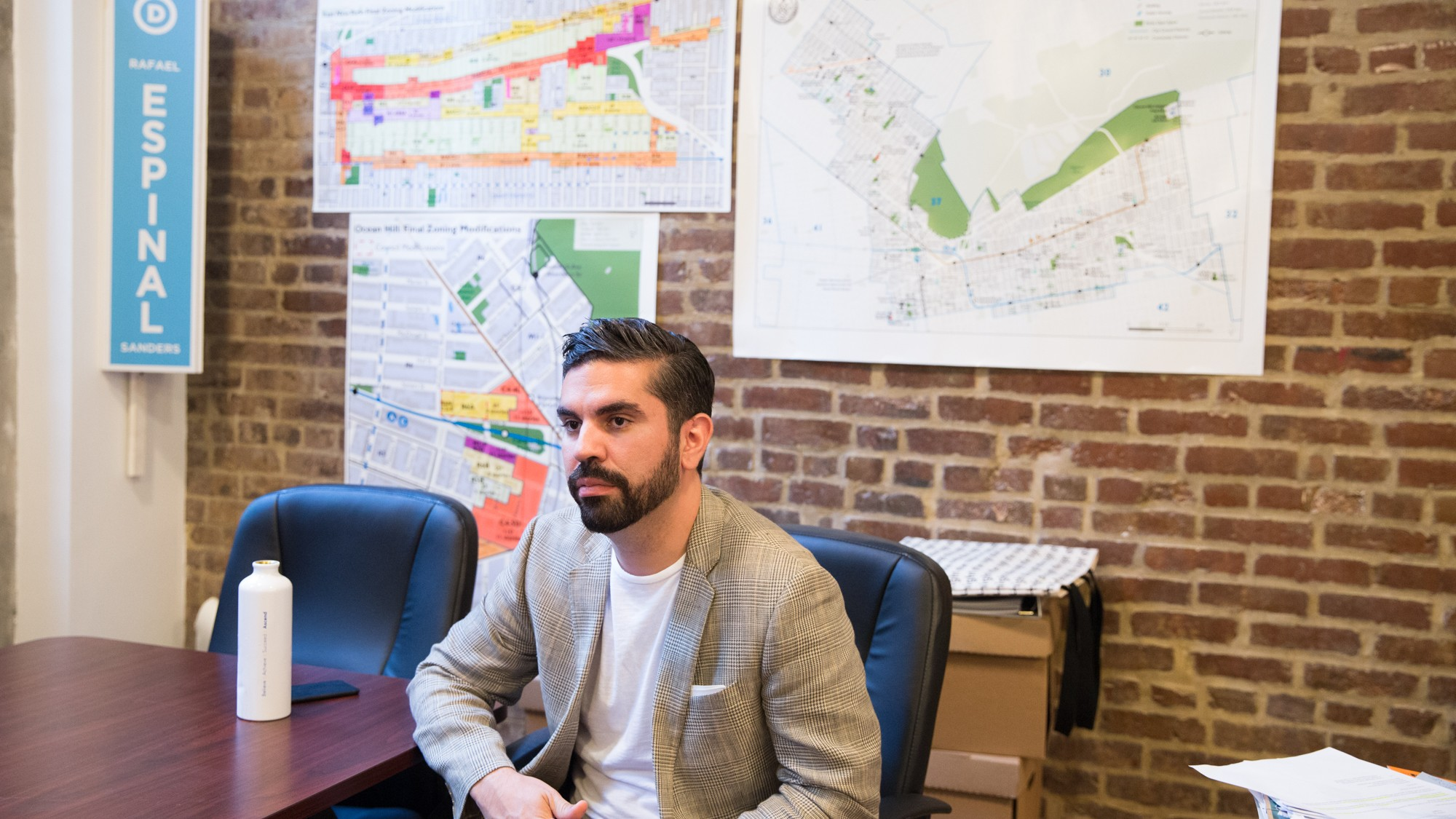 VICE: Riders on the L: Councilman Rafael L. Espinal