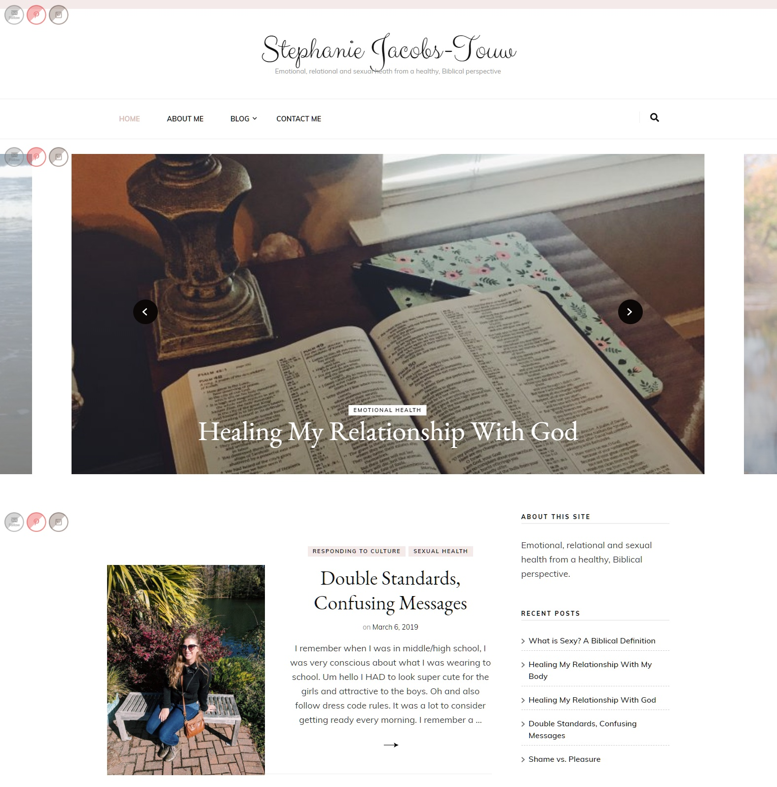 Stephanie Jacobs Touw - WordPress