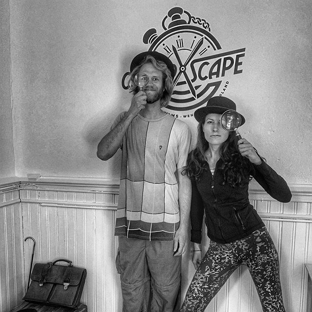 Better not mess with Switzerlandrew & Liz van Wengen ! #nailedit #escaperoom #wheninwengen #canyouescape #wengen #chronoxscape