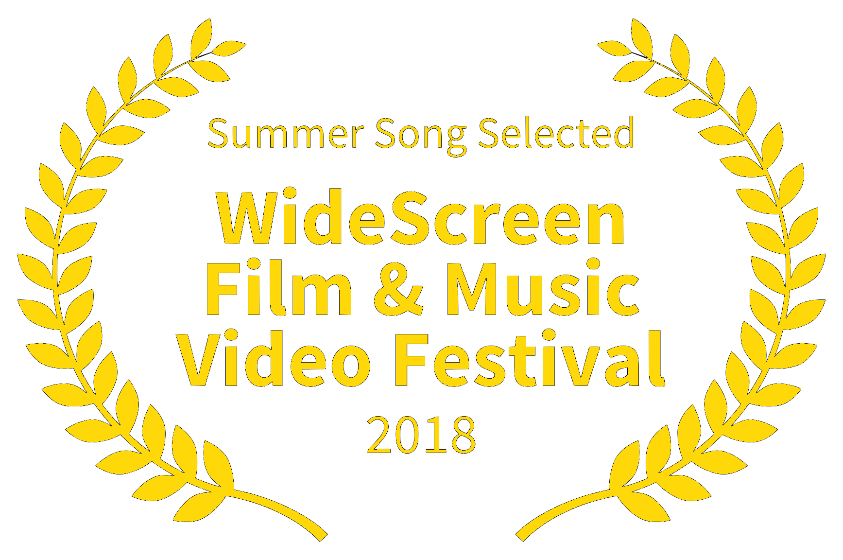 Summer Song Selected Yellow - WideScreen Film  Music Video Festival - 2018.png