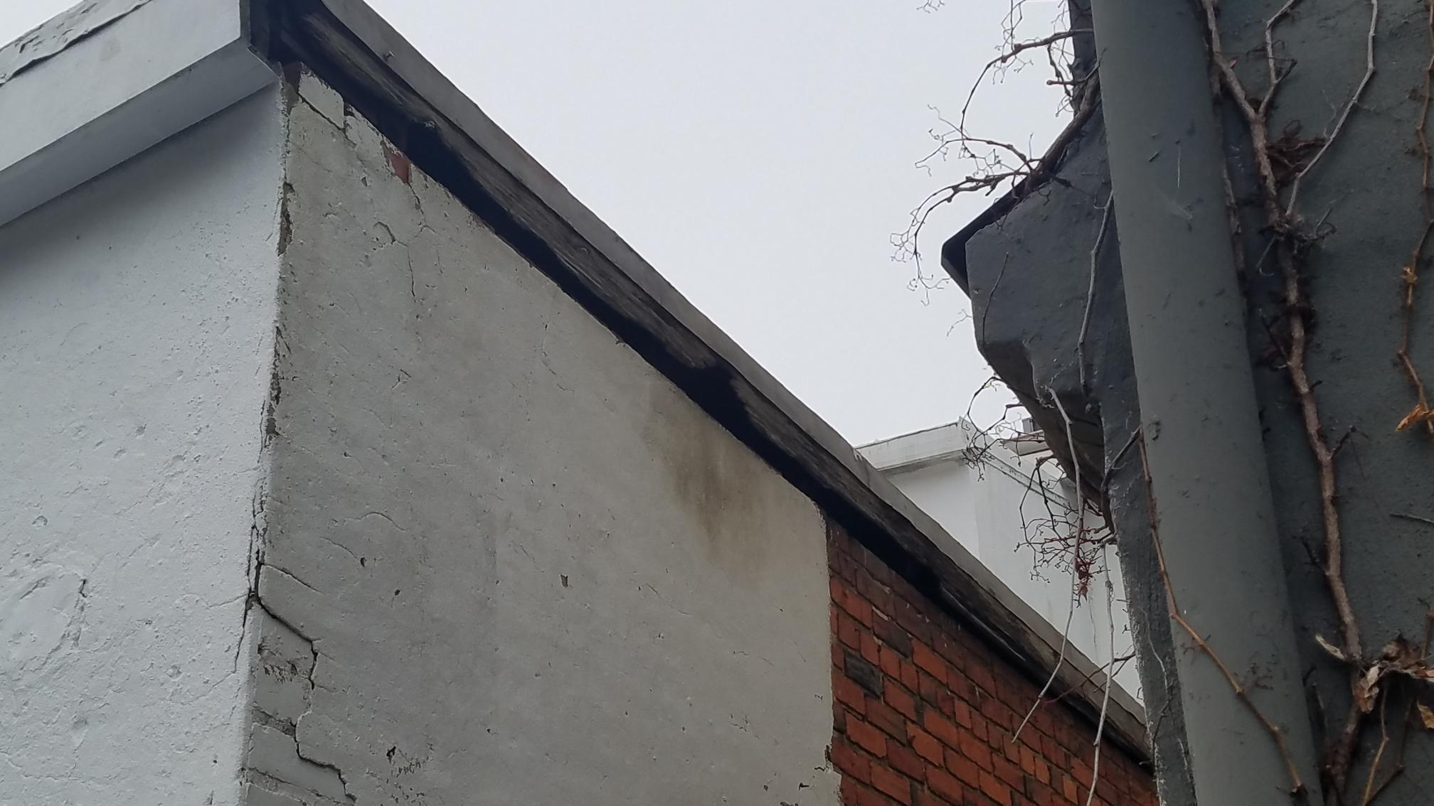 Rotten Fascia Causing Leak In Roof