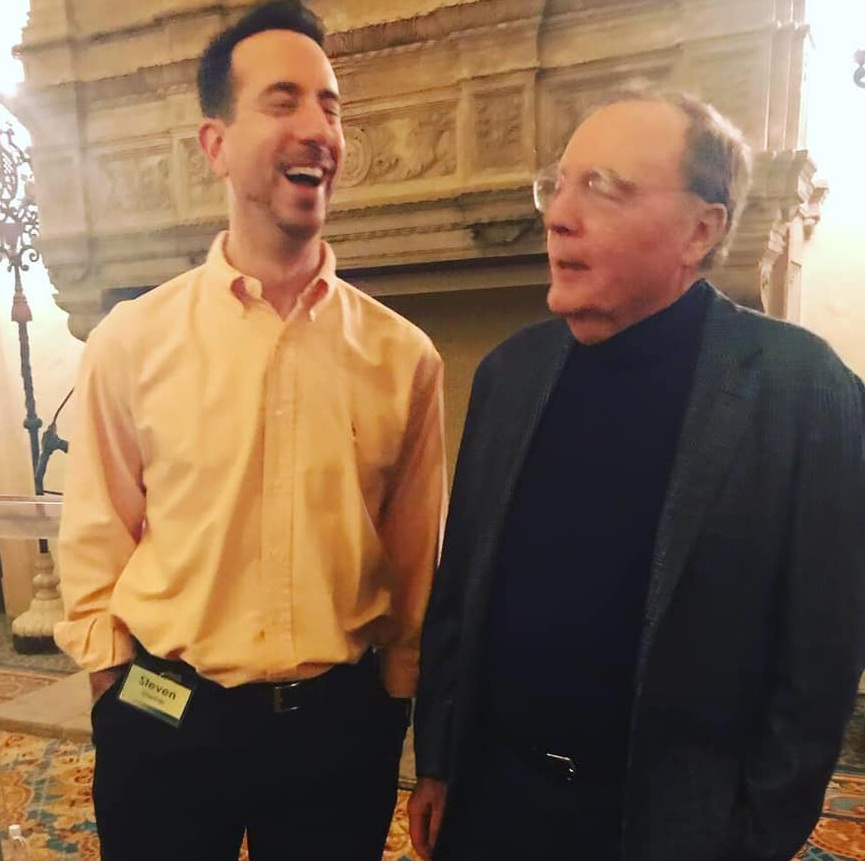 I asked James Patterson if he was looking for a new writing partner. This was my reaction to his response.