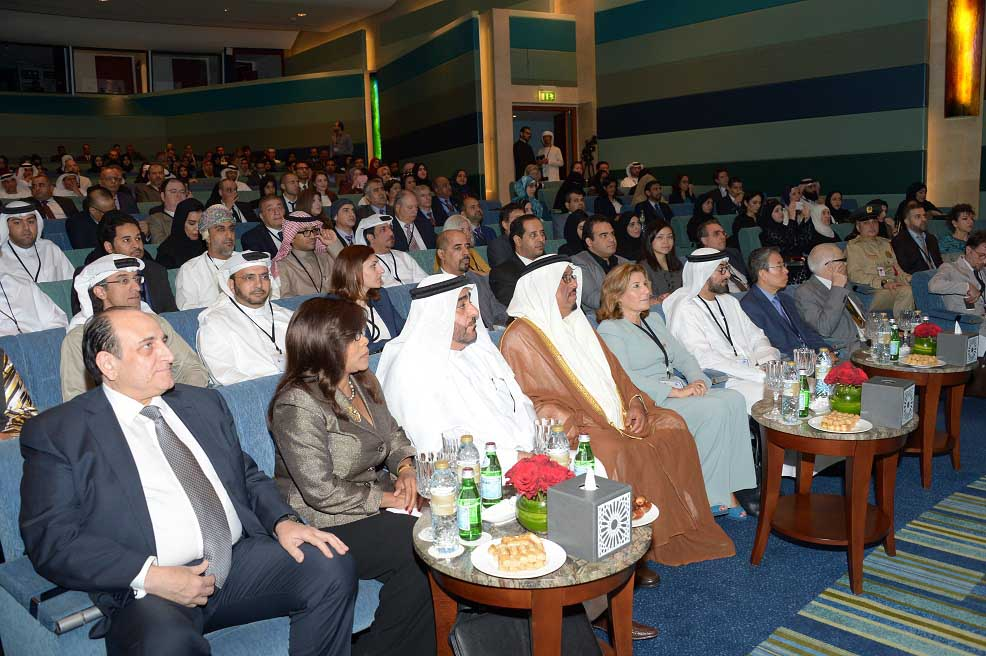 Group image taken during the opening of Innovation Arabia 9.