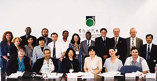 Twenty-one librarians and university administrators of institutions around the world gathered at the OUHK on 11 and 12 October 1999 for a Roundtable Conference. The Roundtable allowed participants to exchange views on how to cope with the development of their institutions in the use of new technology, and in the provision of library services to distance learners.