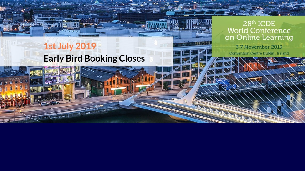 Make sure to register before 1 July to get the Early Bird rate!