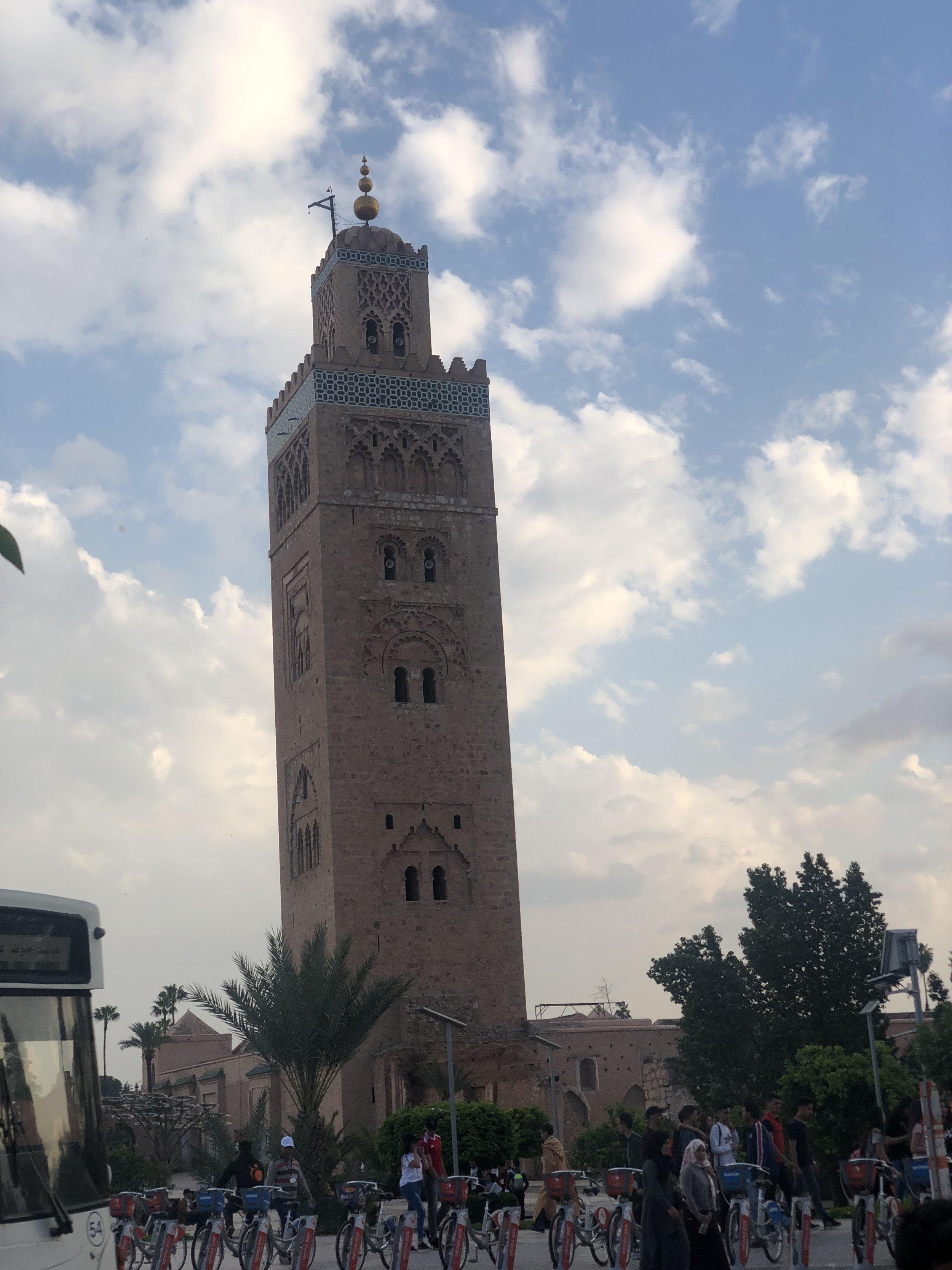la koutoubia mosque.JPG