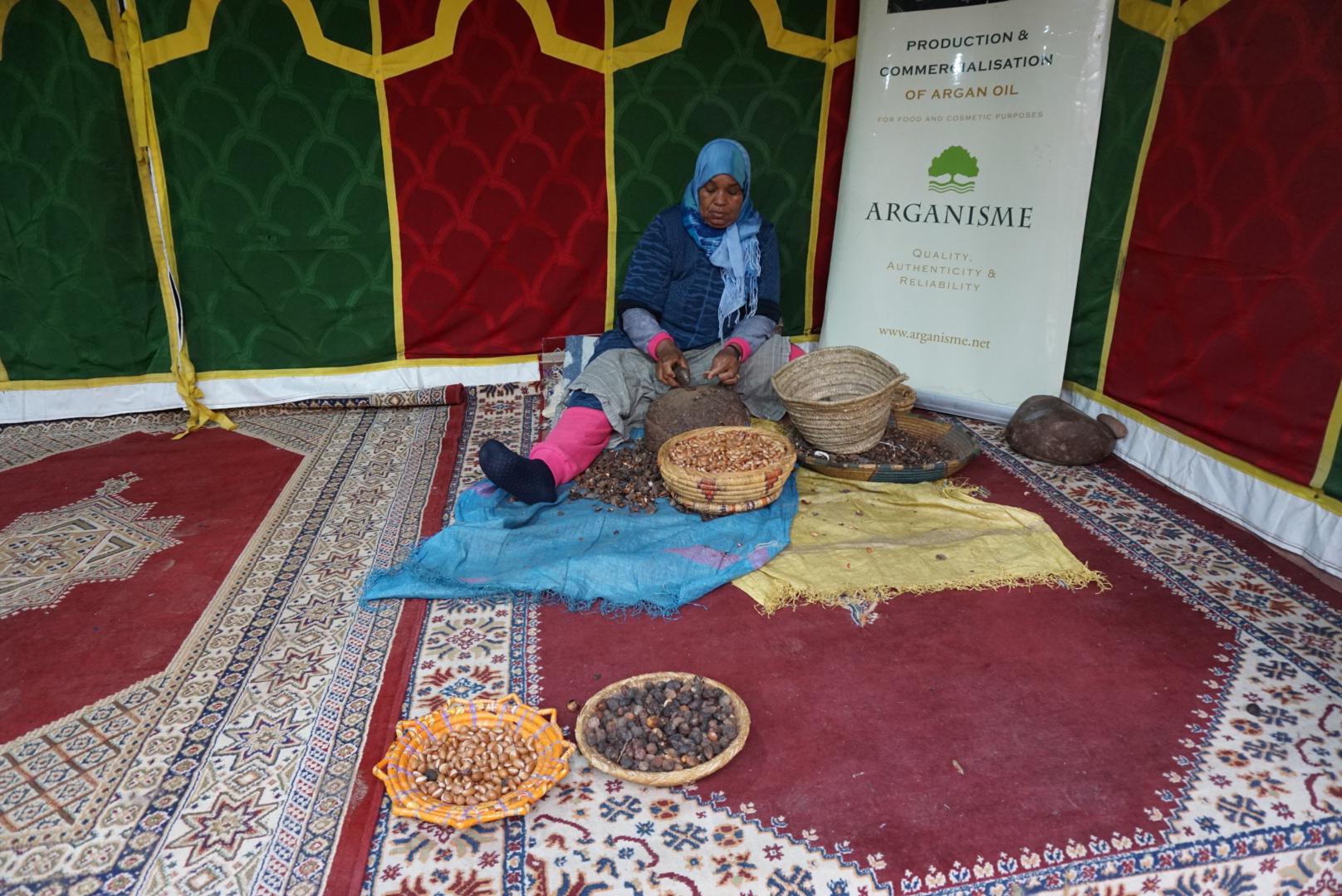 making argan oil morocco.JPG