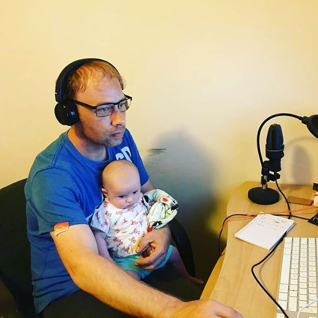 Editing a podcast entitled 'Multitasking'. Meta as you like. @tartan_rose_writing  @ivaenthealien #podcast #podcasts #podcastlife #podcastlove #podcastaddict #podcasters #podcastersofinstagram #podcasthost #podcaster #podcastshow #podcastnetwork #podcastersofig
