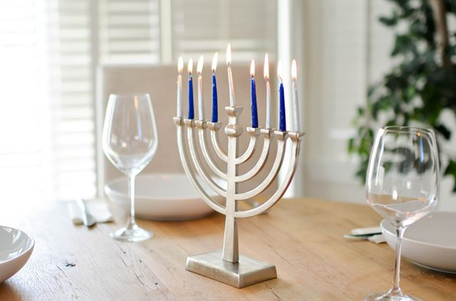 Happy Hanukkah from Draper College Consulting!