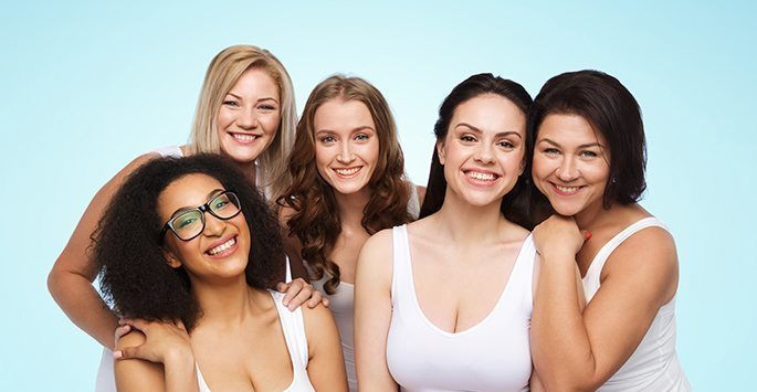 group of women of all different ages