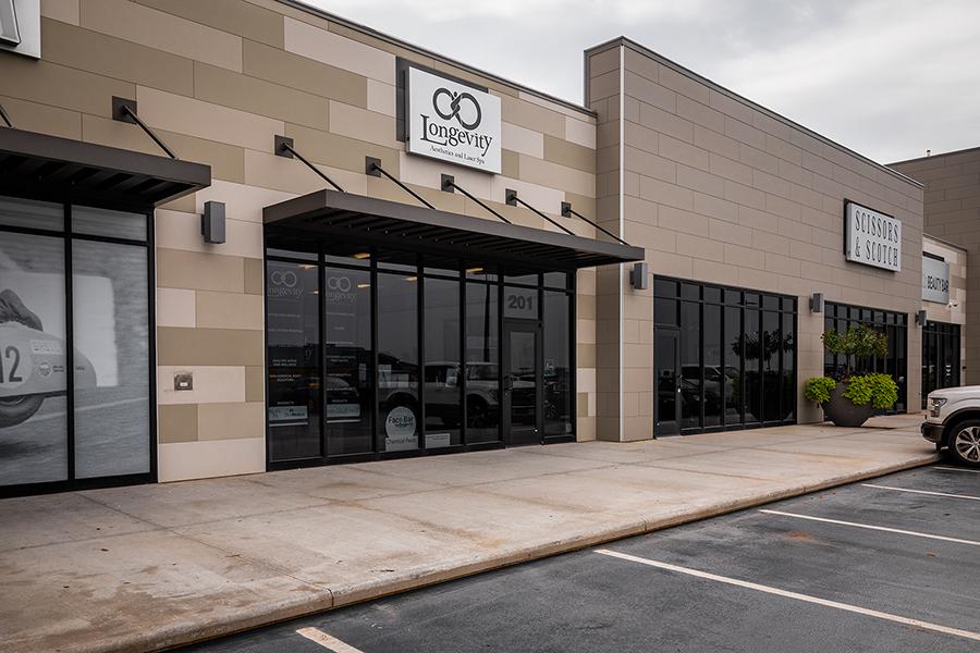 Longevity Aesthetic Spa North Location at   13230 Pawnee Drive Suite 201, Oklahoma City, OK 73114