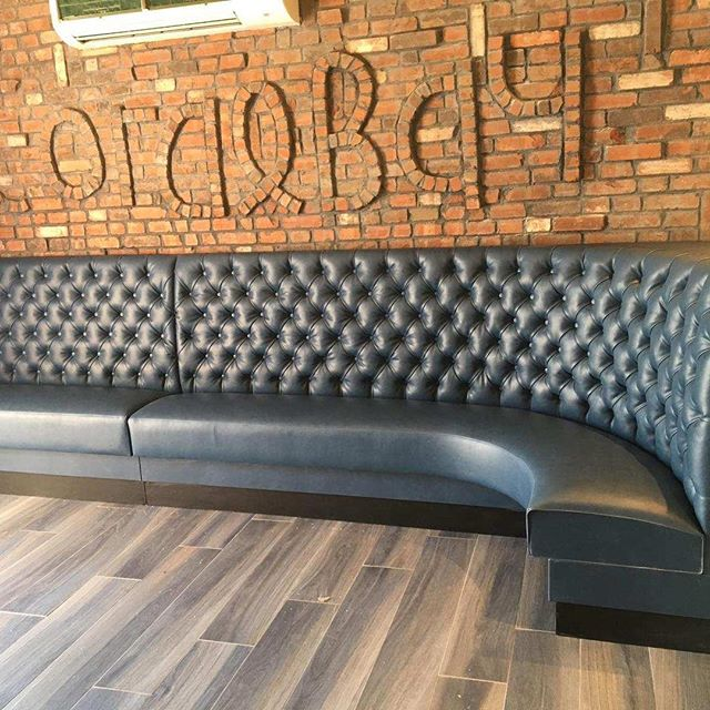Coral Bay Staten Island NY Manufactured by Rollhaus Products Long Island,NY Furniture replaced after Hurricane Sandy wiped them out !#restaurantfurniture #seatingproducts #restaurantdesign #restaurantdecor #diamondtufted #diningbythebeach