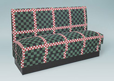#2500 Smooth Back Settee