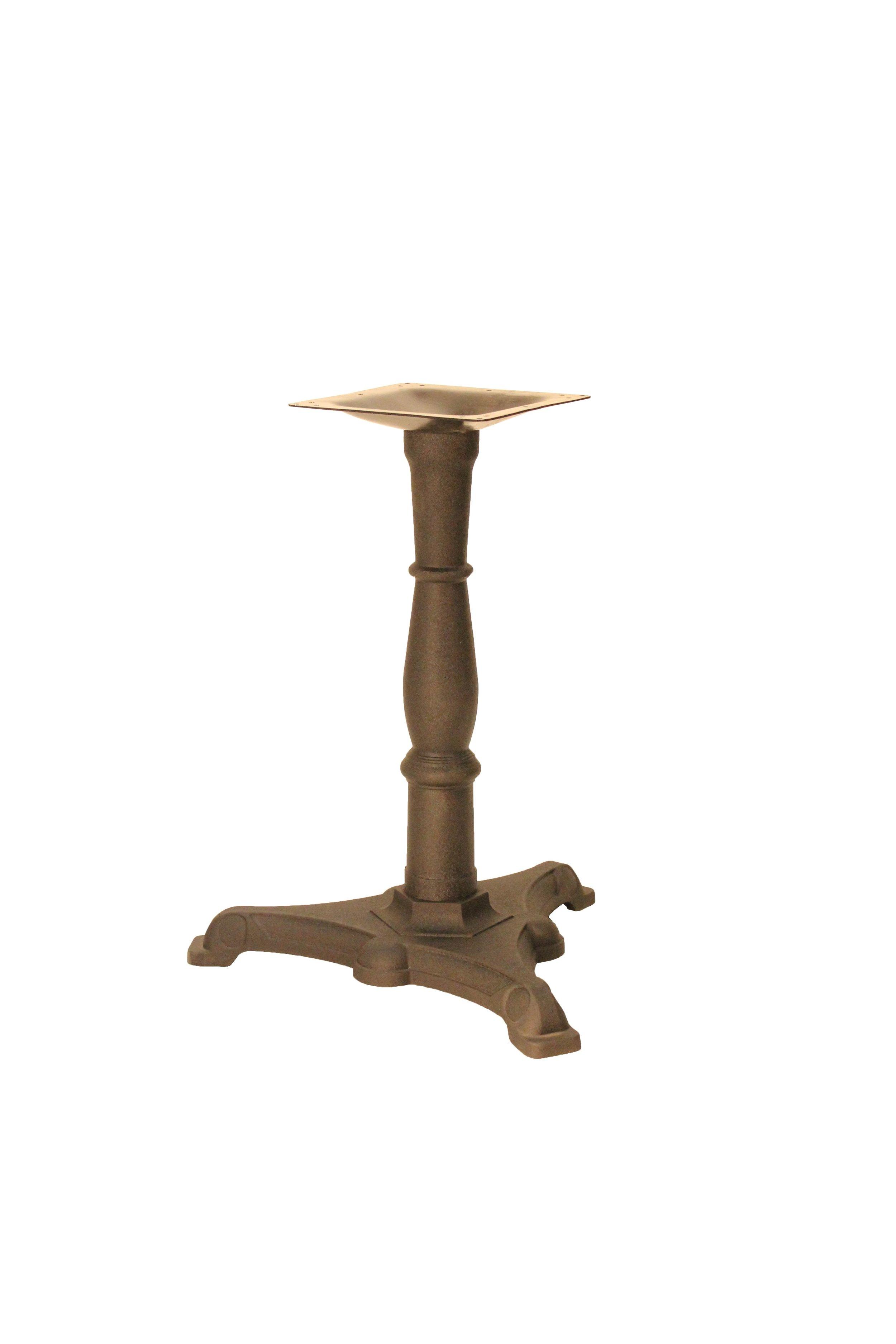 B15LH - Cast Iron Table Base/ Steel Column