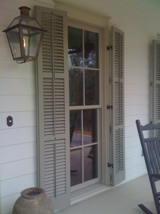 Functional Louvered Shutters