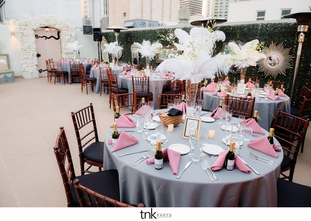Wedding at the Oviatt Penthouse in Downtown LA for an Australian Consulate and his beautiful bride.