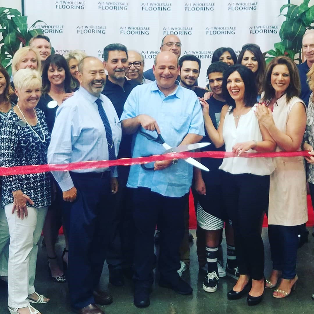 A-1 Wholesale Flooring Grand Opening, Photo by Marvin Steindler.