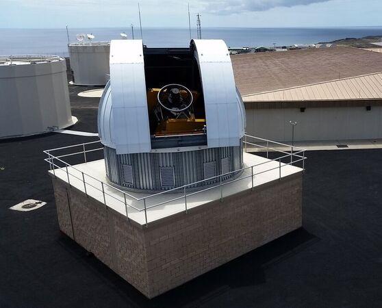 NASA's Eugene Stansbery Meter Class Autonomous Telescope (MS-MCAT) [need higher res?]  Credit: NASA